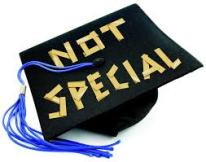 not special grad cap