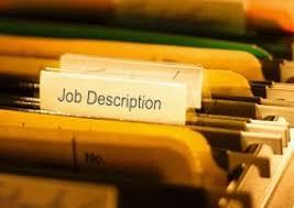 job description tab
